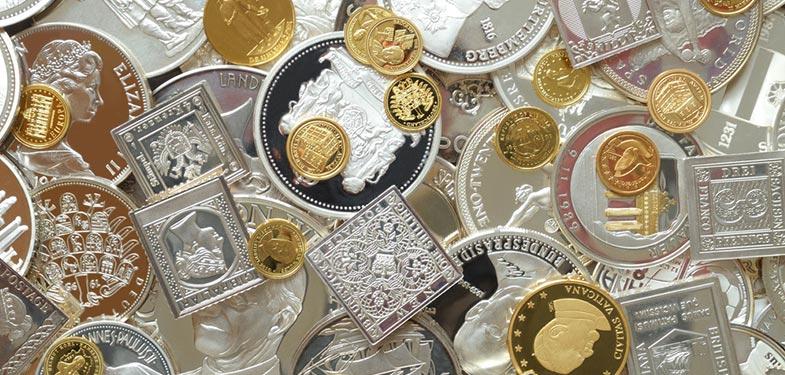 Münzen aus Gold Silber verkaufen Berlin