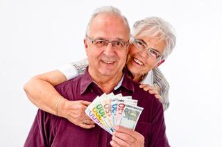 Geld mit einem Pfandkredit
